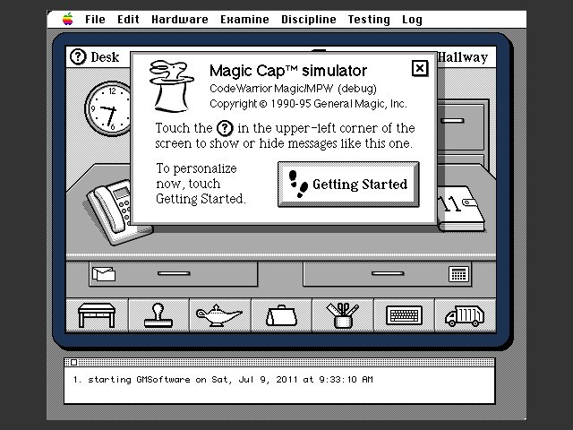 Magic Cap Simulator 1.0 (1995)