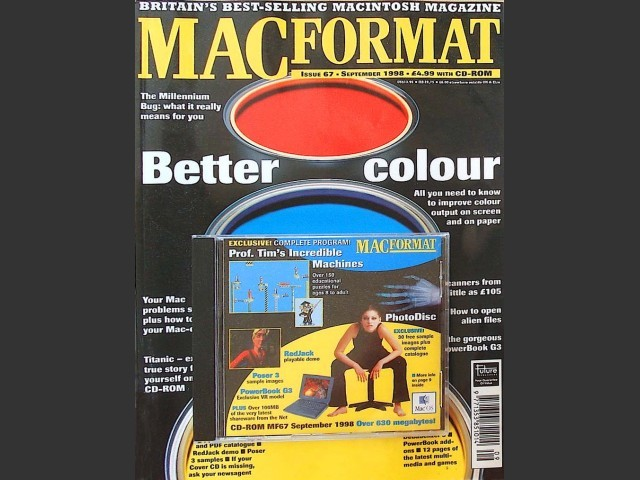 MacFormat 1998 Cover CDs (1998)