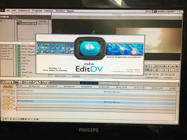 Radius EditDV and MotoDV (1997)