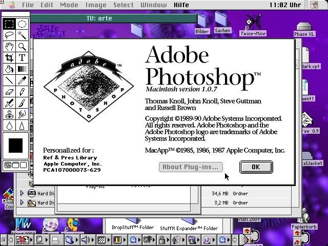 Adobe Photoshop 1.x (1990)