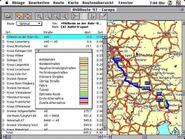 Routenplaner Europa (German) (1998)