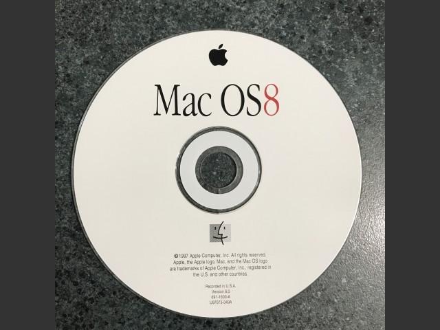 A real Mac OS 8 CD