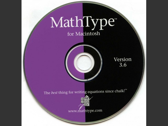 MathType 3 (1999)
