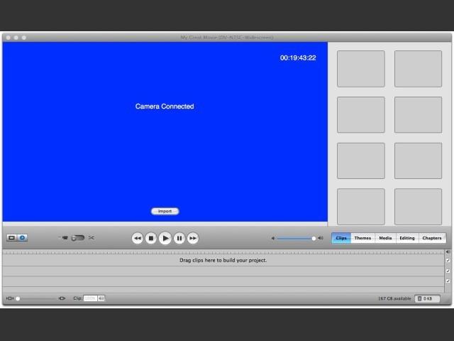 DV capture mode