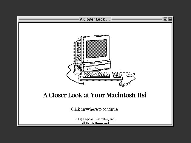 A Closer Look at Your Mac IIsi (1990)