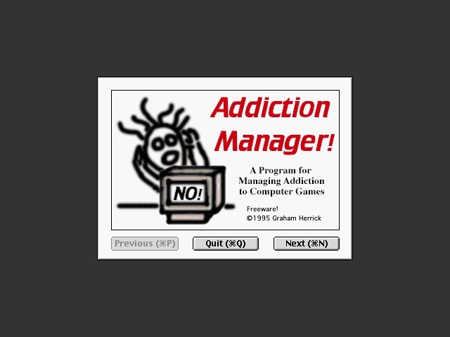 Addiction Manager (1995)