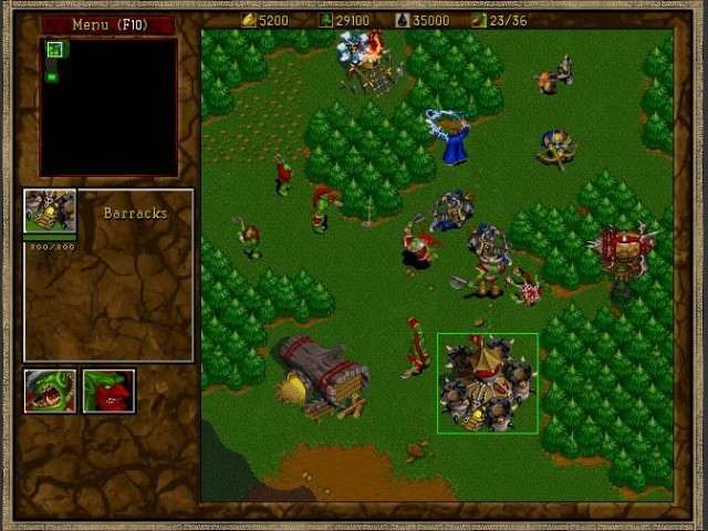 Warcraft II: Tides of Darkness (1995)