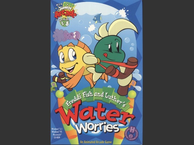 Freddi Fish and Luther's Water Worries (1996)