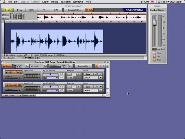 sonicWORX Studio 2.6 (2002)