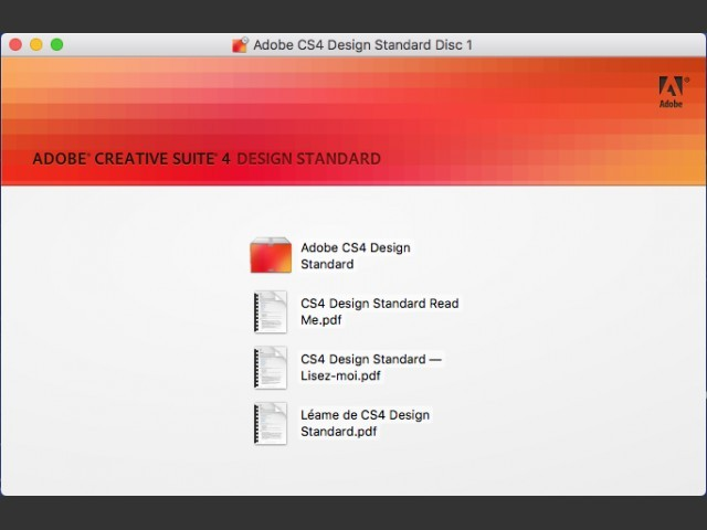 Adobe Creative Suite 4 Design Standard (2008)