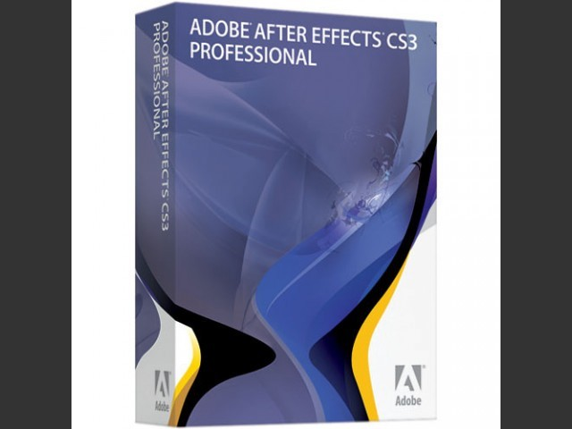 Adobe After Effects CS3 Professional (2007)