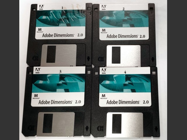 Adobe Dimension 2.0 (1994)