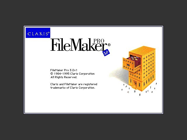 Claris FileMaker Pro 3.0v1 CD-ROM (with 3.0v5 Update) (1995)