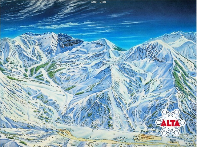 Ski Area (Second Nature) Screen Saver (1999)