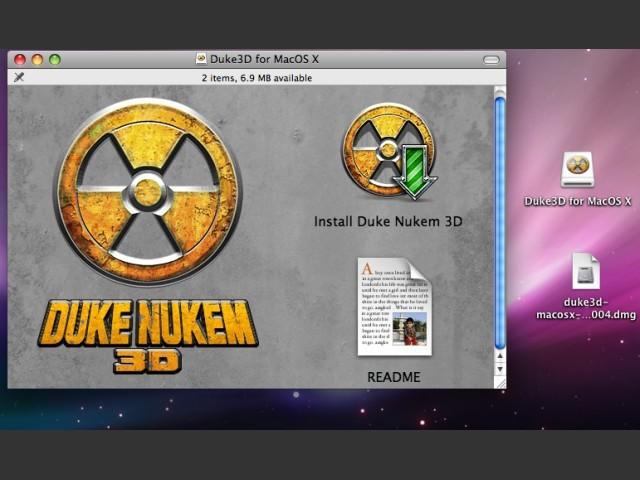 Duke Nukem 3D os x (2004)