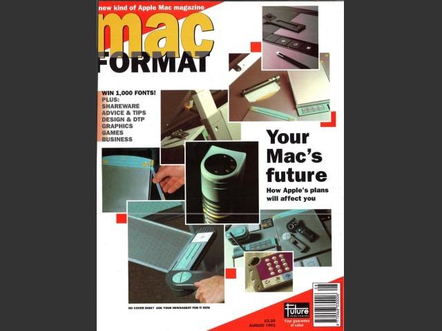 Mac Format 03 (Aug. 1993) (1993)