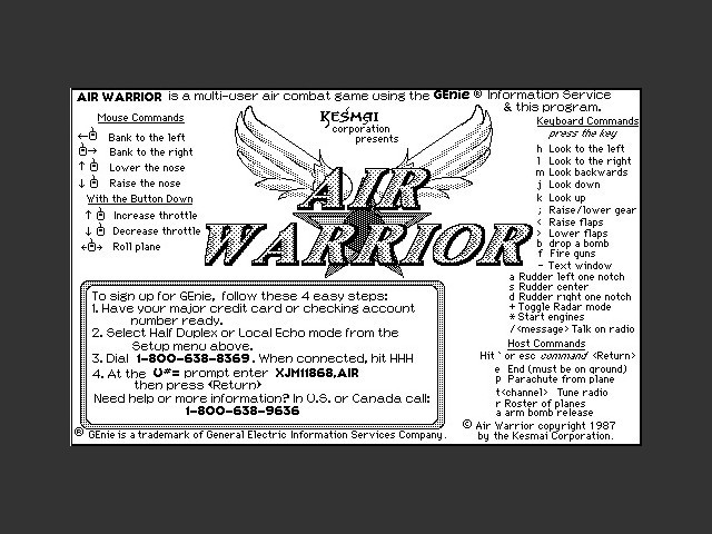 Air Warrior (1987)