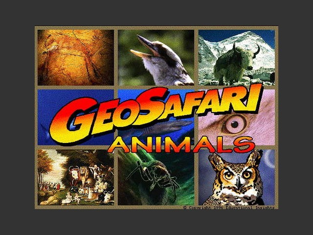 GeoSafari Animals (1996)