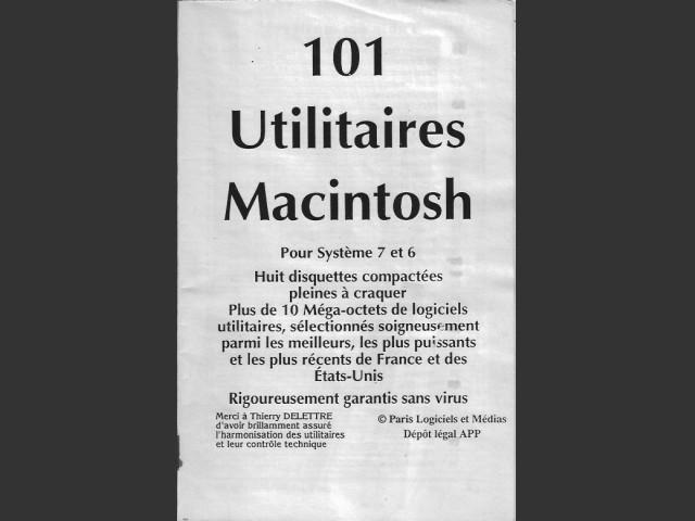 101 Utilitaires Macintosh pour Système 7 et 6 (1991)