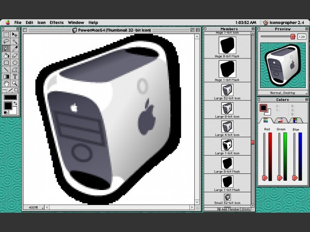 Edit window in Mac OS 9