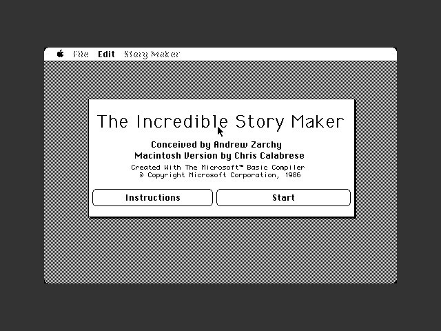 The Incredible Story Maker (1988)
