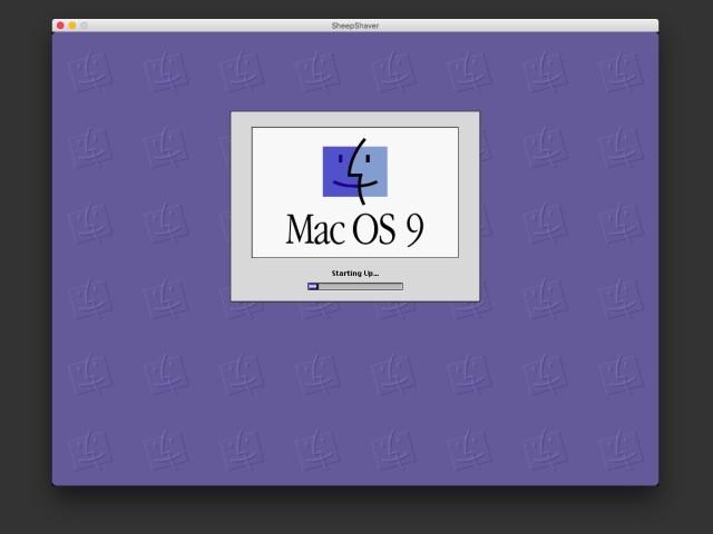 Mac OS 9 Starting