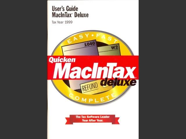 MacInTax 1999 (2000)