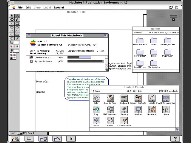MAE 1.0 running on Solaris
