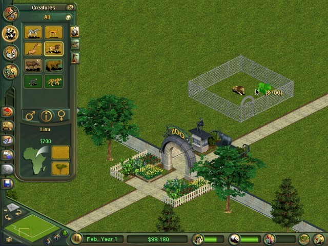 game zoo tycoon 2 download free