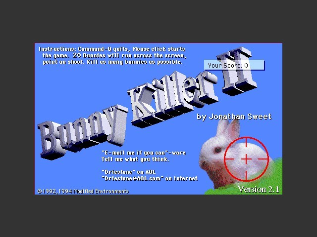 Bunny Killer 2 (1993)