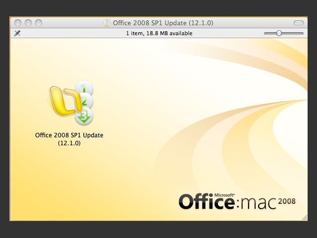 MS Office 2008 for Mac Service Packs SP1 SP2 SP3 (2010)