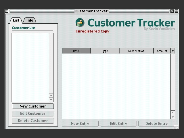 Customer Tracker (1999)