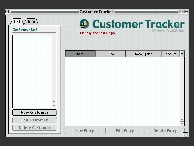 Customer Tracker (1999)