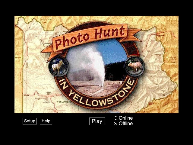 Photo Hunt in Yellowstone 2.0 (1999)