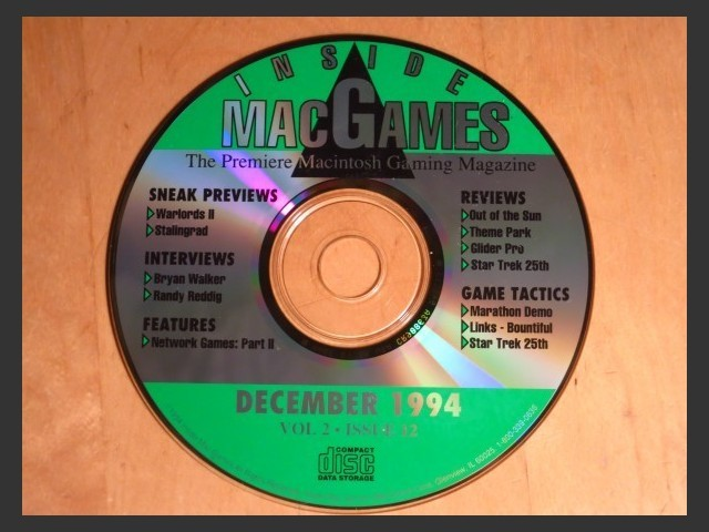 Inside Mac Games CD December 1994 (1994)