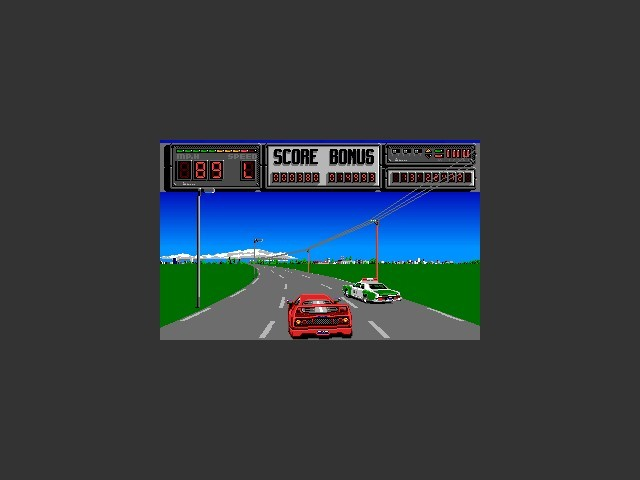 F40 Pursuit Simulator (1990)