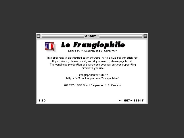 Le Franglophile (1997)