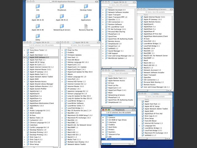 Applications Recovery Software List