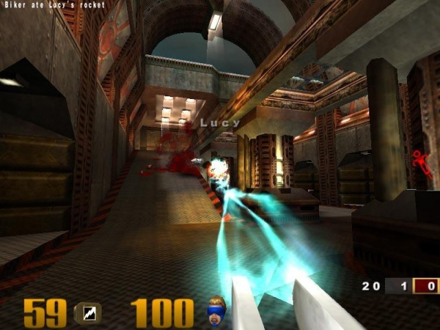 Quake III - Get fragged, fool!