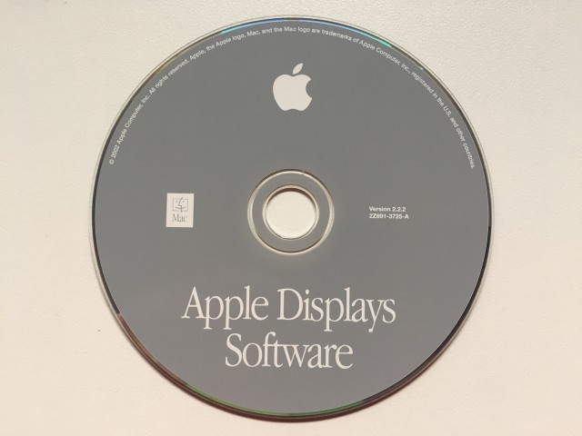 Apple Displays Software & ROMs (2002)