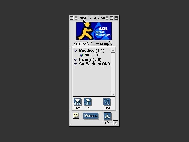 AOL Instant Messenger 2.x (68K) (1998)