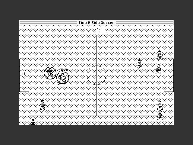 Five a Side Soccer gameplay