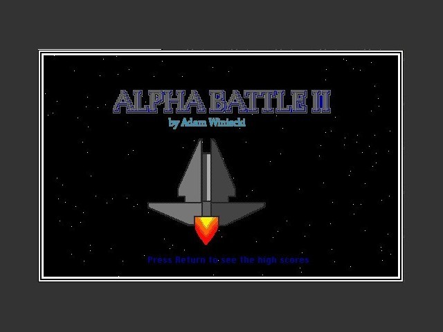 Alpha Battle II (1992)