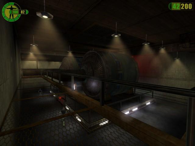 Generator room.