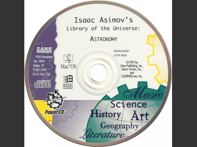 Isaac Asimov's Library of the Universe (1995)