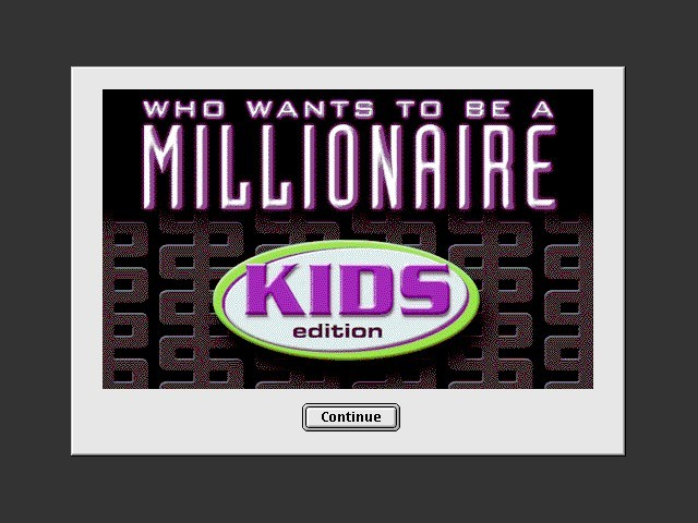 Who Wants to Be a Millionaire: Kids Edition (2001)