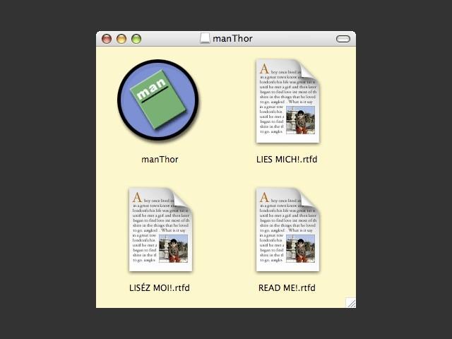 ManThor 1.0 (2001)