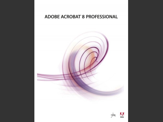 Adobe Acrobat 8 Professional (2006)