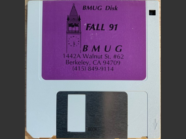 BMUG Fall 91 (1991)