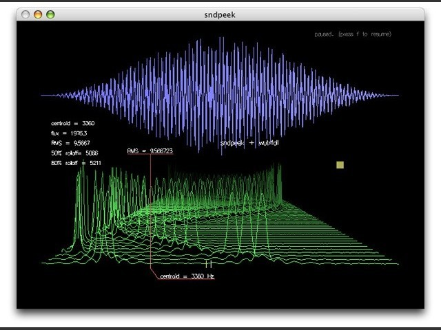 sndpeek 1.4 : real-time audio visualization (2005)